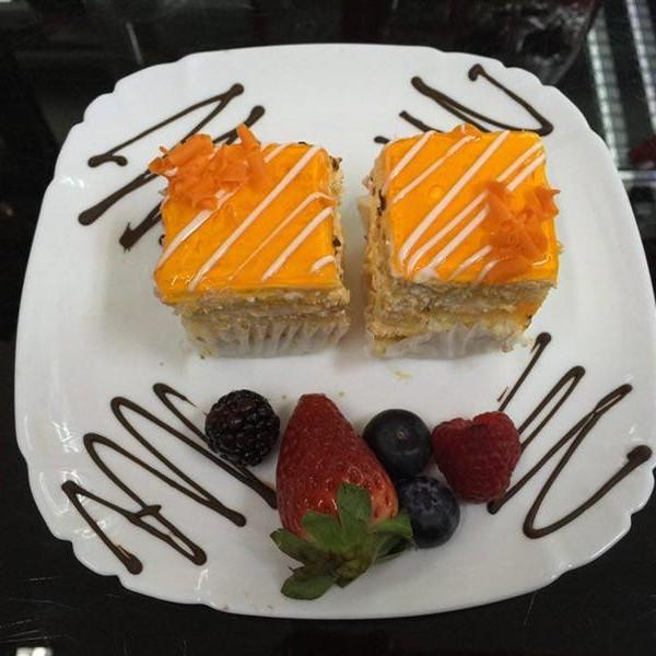 mini prajituri romanesti Londra cu portocale